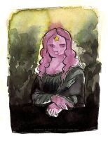 Lumpy Space Princess Mona Lisa by Tsubasa-No-Kami