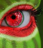 Summer Series - Watermelon Eye by MEGAN-Yrrbby
