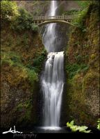 multnomah falls by NWunseen