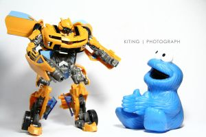 Meet Mr Cookies, Bumblebee.. by kitinggiling