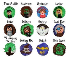 Potter character cupcakes 2 by wotchertonks7