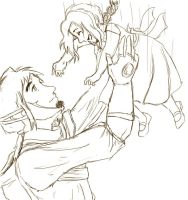 Fable Father and Daughter WIP by NotAvailable081606