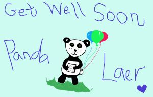 Get Well Soon Laer by WhirledlyGoodz