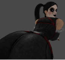 Harley Quinn DLC's Booty by zoid162010