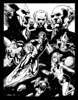 Green Lantern Corps by craigcermak