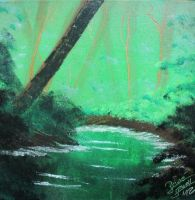 Green River Canvas by RiensArtwork