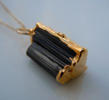 Tourmaline Necklace by 443Jewelry