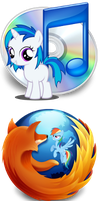Pony icons2 by Dribmeg