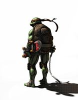 Raphael Stand Up by monstre210