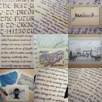 Calligraphy and Handwriting practice II by ynne-black