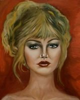 oil portrait by rula2014
