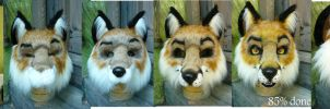 Red Fox WIP by LilleahWest