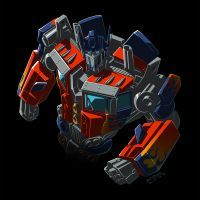 Optimus Prime stylized by REX-203