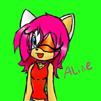 Aline the hedgehog by SonicAdoptibles101