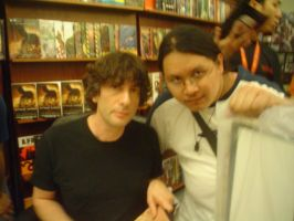 With Neil Gaiman by taikun21