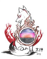 Okami - Sunrise by analoren