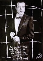 A devil named Moriarty by DrawingFangirl