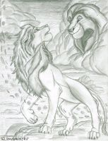 we are one- the lion king by AgentWhiteHawk
