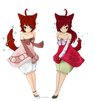 Twins by Sheepieh