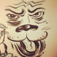 Wild Cat Face by thegreck