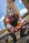 Borderlands Psycho Cosplay SKS Props Calgary Expo by SKSProps