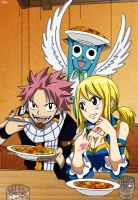 Natsu and Lucy by Futuretabs