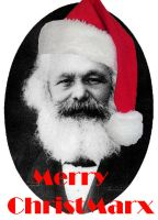Karl Marx - Merry ChristMarx by MystralCasterial