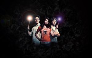 Wizards Of Waverly Place WP by mikeygraphics