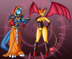 :Witchcraft: Summon the Succubus by Pikuna