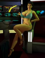 Romulan Pinup by willdial