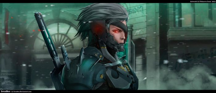 METAL GEAR RISING: REVENGEANCE by IrenBee