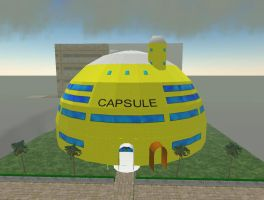 SL Capsule Corp. Dome by zoom98