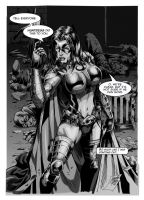 Huntress Lettered by MARCIOABREU7