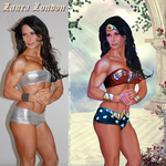 Laura London IS Wonder Woman By JY-KO-X by zenx007