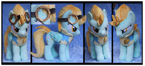Lightning Dust Custom Plush by Nazegoreng