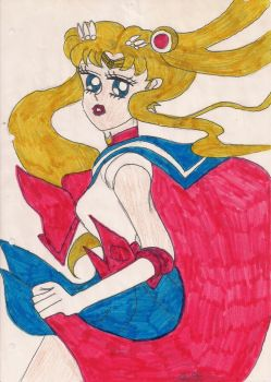 Sailor Moon by Angelwings22