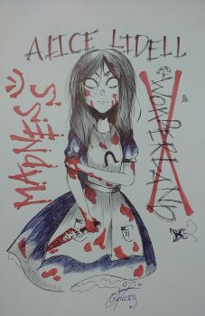 Alice Madness Returns by SuweetoHaato