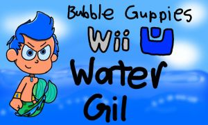Bubble Guppies Wii U concept art - Water Gil by SuperSonicBros2012