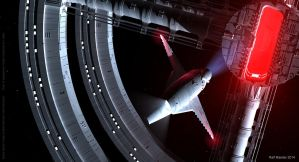 Space Station 2001 h by ralfmaeder