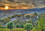 Sunset from mountain by JohnnyVadala