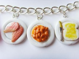 11th Doctor Who Food Bracelet 2.0 - Close2 by tyney123