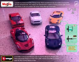 More 1/18 scale Maisto and Bburago cars :) by wsache2020