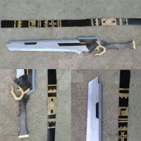 Seha Lee sword and belt by aishicosplay
