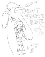 Dont Touch Her by Brixyfire