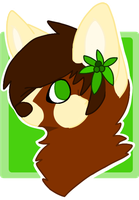 :PC: Chibi Headshot for RayleeCat by P4WPR1NT