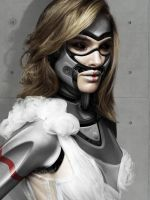 Natalie Portman Fembot by Bostaddesign