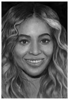 Beyonce Pencil Portrait by chong-yi