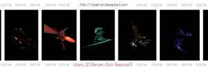 Vrael's Render Pack Release01 by vrael-art