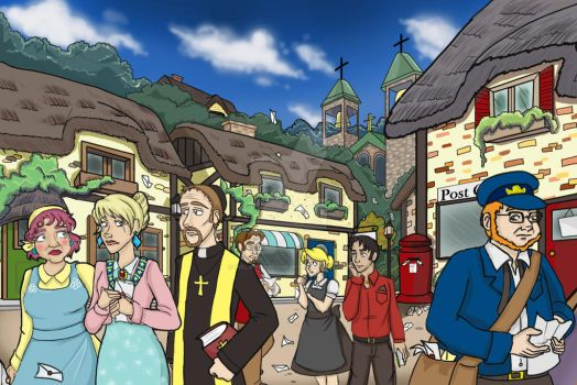 The Village Done by melaniehitomi