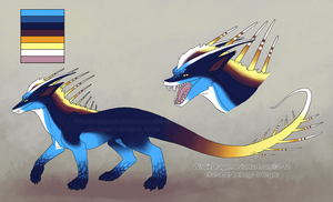 Commission- teryxc Ref Sheet by WindieDragon